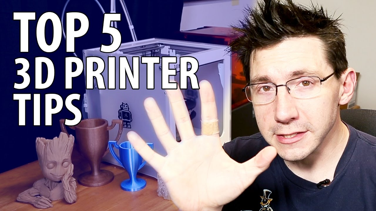 My Top 5 3D Printer Tips After Getting Your First #3DPrinter