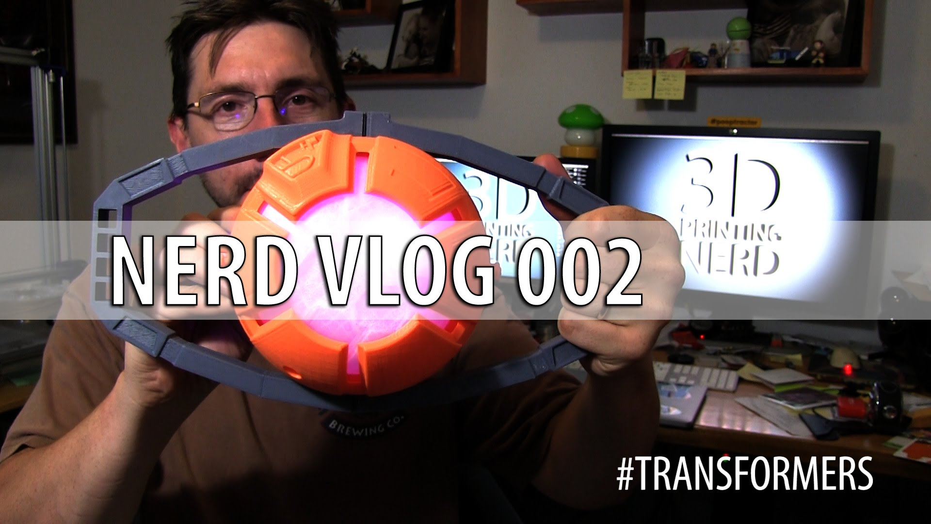 NerdHQ, Colorfabb, Transformers! Nerd Vlog 002