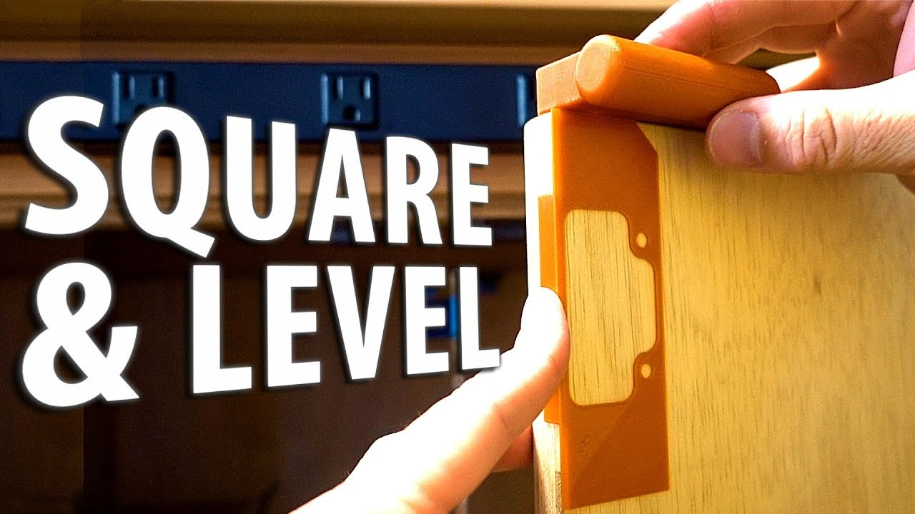3D Printing Square & Level Drawer Pulls and Cabinet Handles using Jigs and Screw Templates