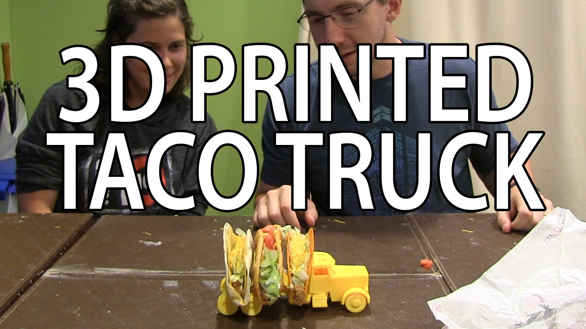3D Printing: Taco Truck on the Zortrax m200 3D Printer