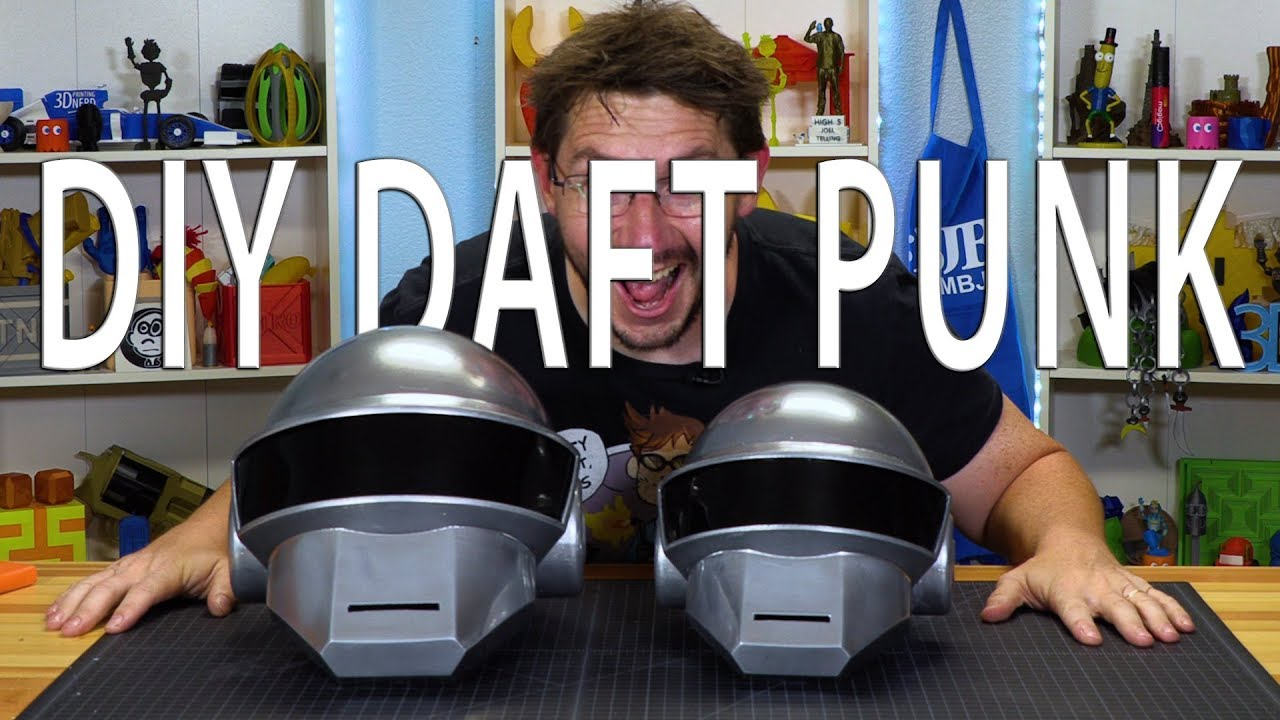 DIY Daft Punk: 3D Printing the Thomas Bangalter Iconic Helmet