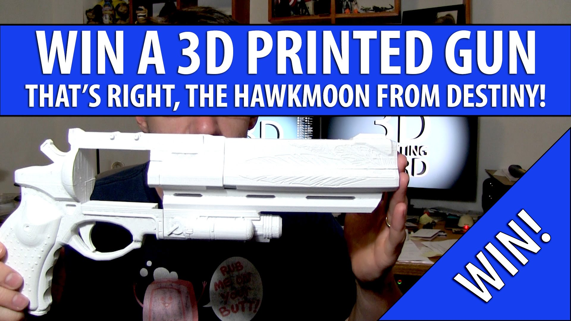 Win a Free 3D Printed Gun (Hawkmoon)