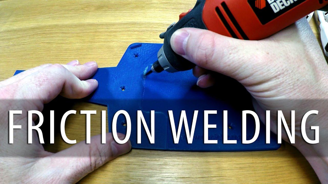 3D Printing and Friction Welding: Attaching 3D Printed Parts with Heat