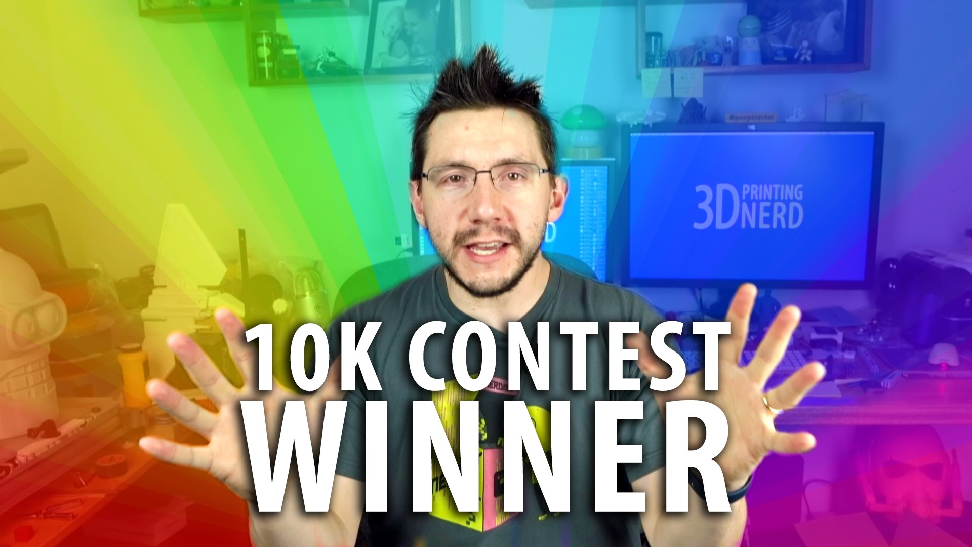10K Winner Announcement + #JoelTalksTooMuch