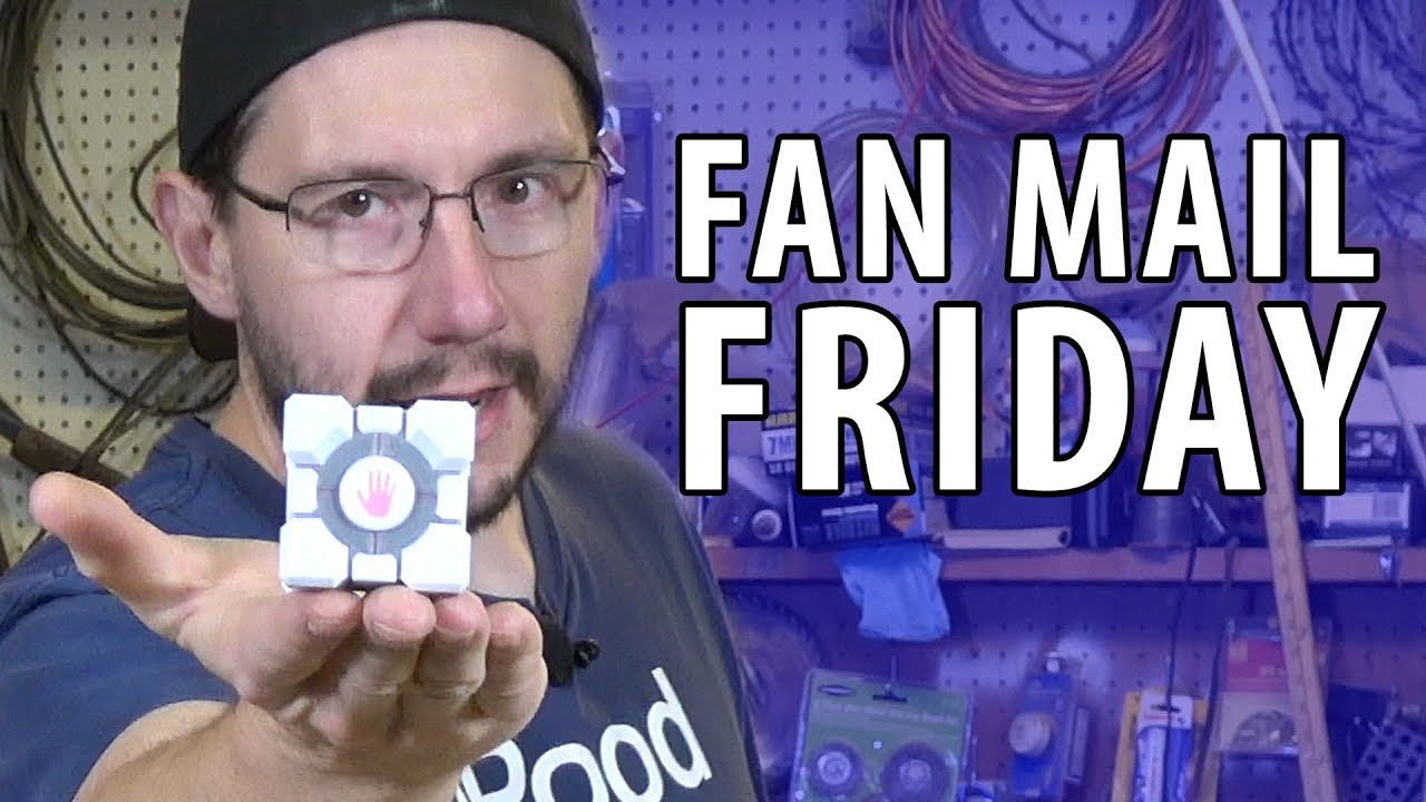 Fan Mail Friday! GLADOS Voice & Pac-Man Fever (Interpretive Dance)