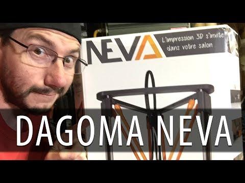 The Dagoma Neva Delta 3D Printer!