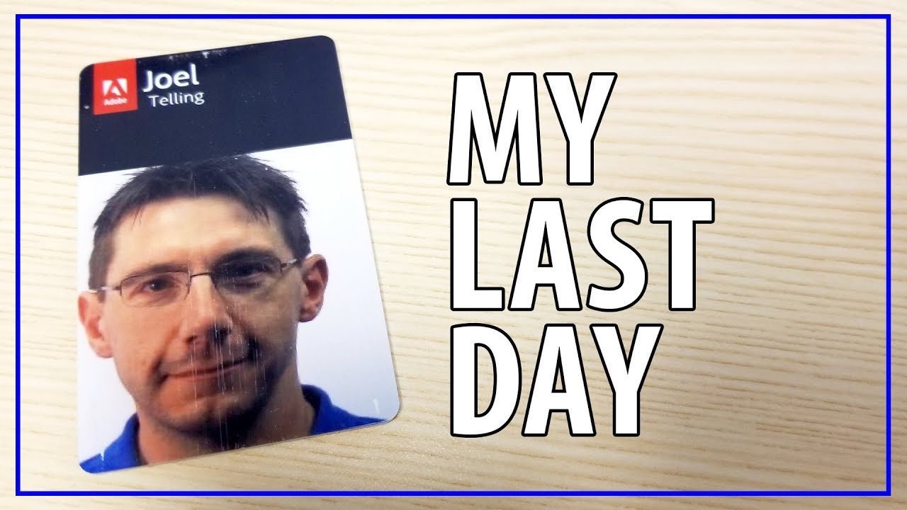 This Is My Last Day at Adobe, I am NOW a FULL TIME CONTENT CREATOR!