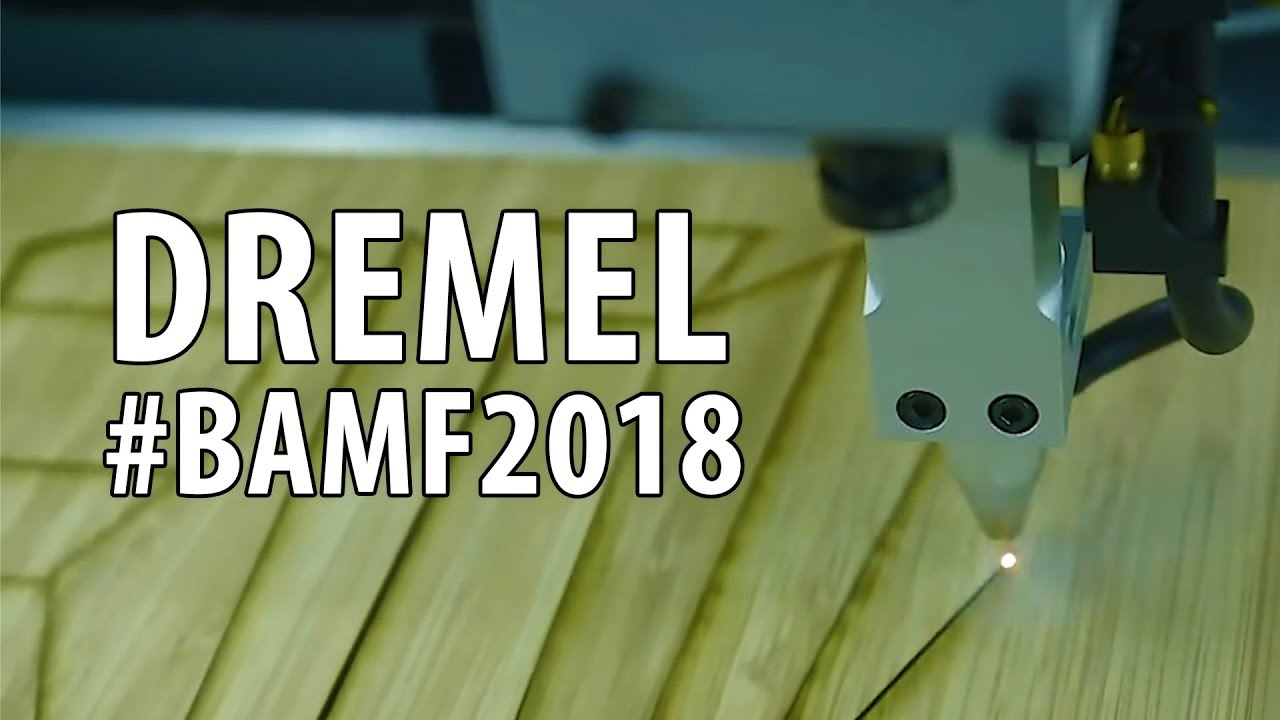 Dremel Digilab Booth at Bay Area Maker Faire 3D45 & Laser Cutter! #BAMF2018