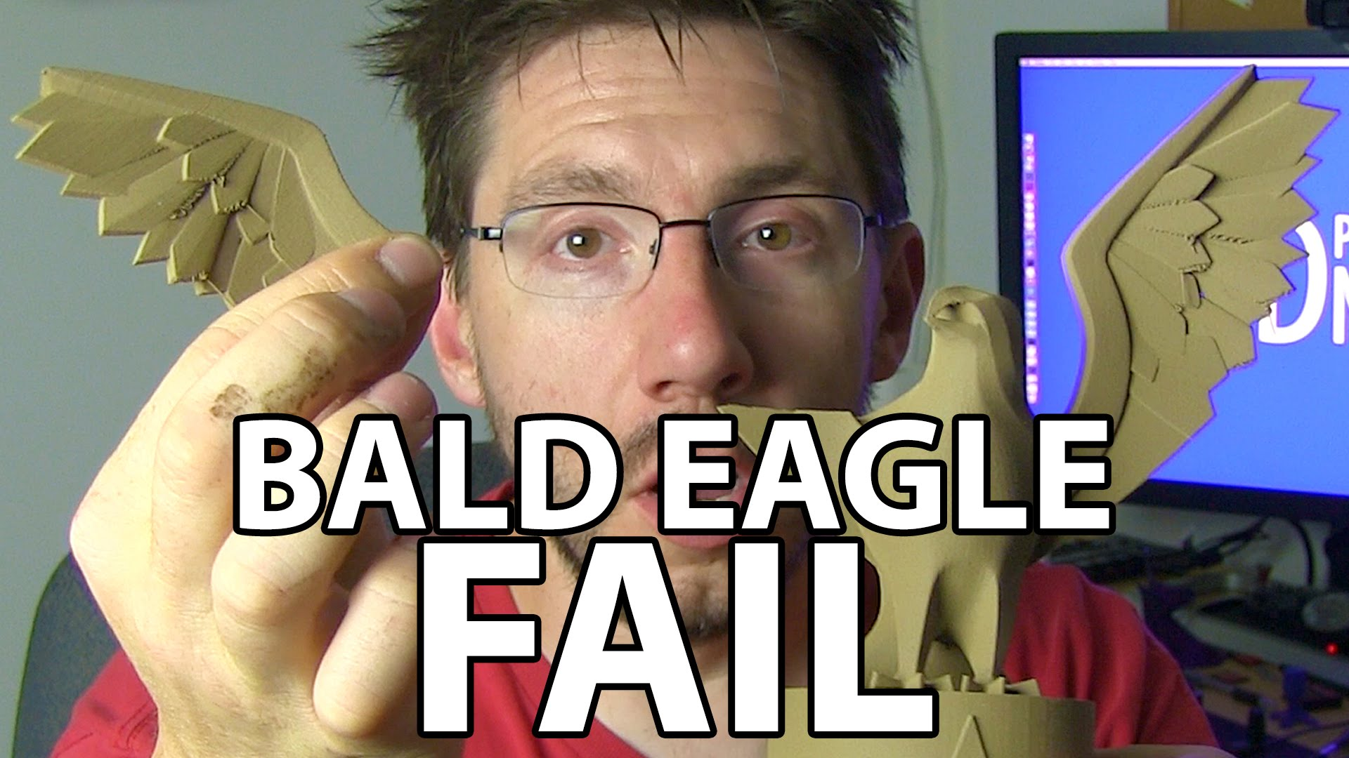 3D Printing: Bald Eagle Fail … Again