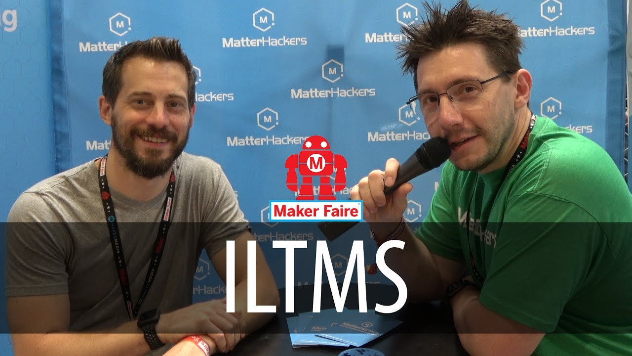 I Like To Make Stuff at the Matterhackers Booth at Bay Area Maker Faire 2017