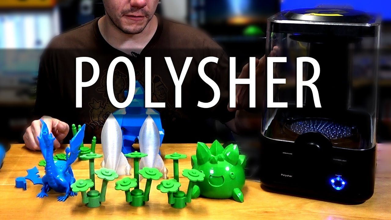 Polymaker Polysher Review – 3D Printing with No Layer Lines using Polysmooth?