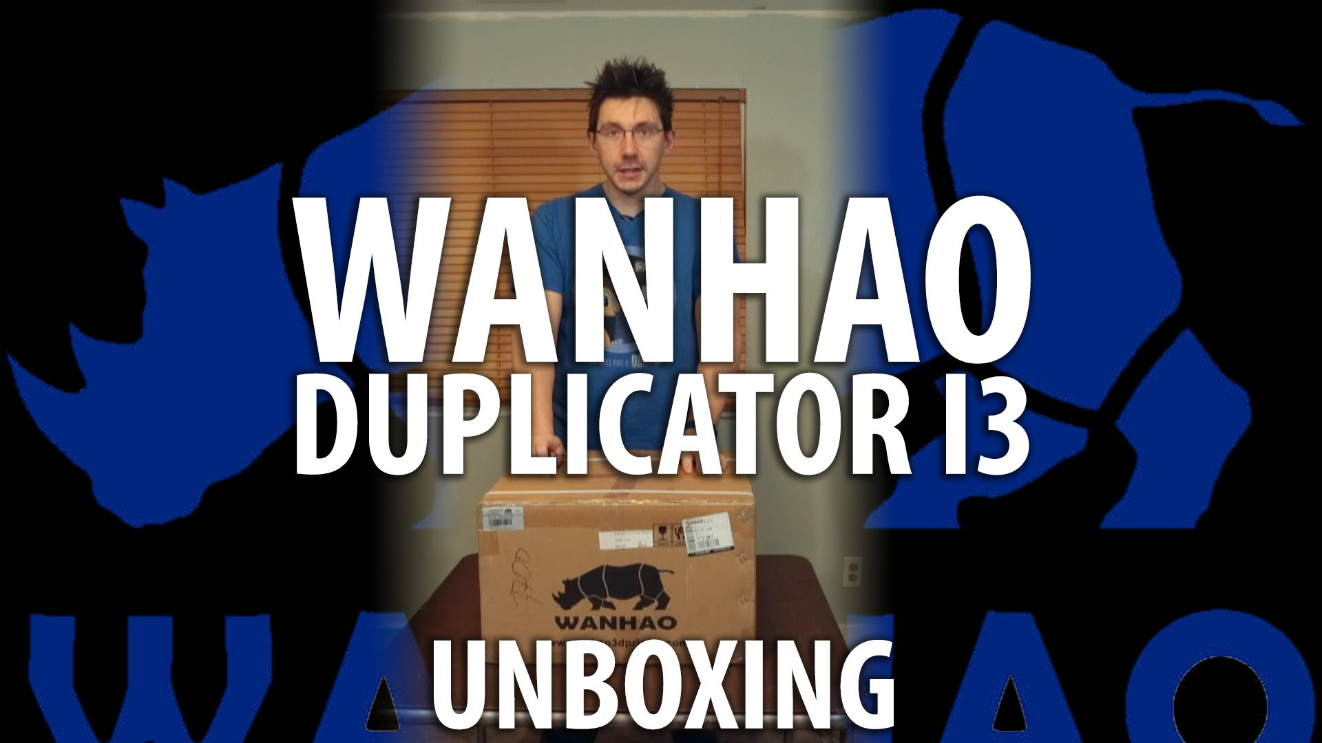 Wanhao Duplicator i3 Unboxing (Watch Until The End!)