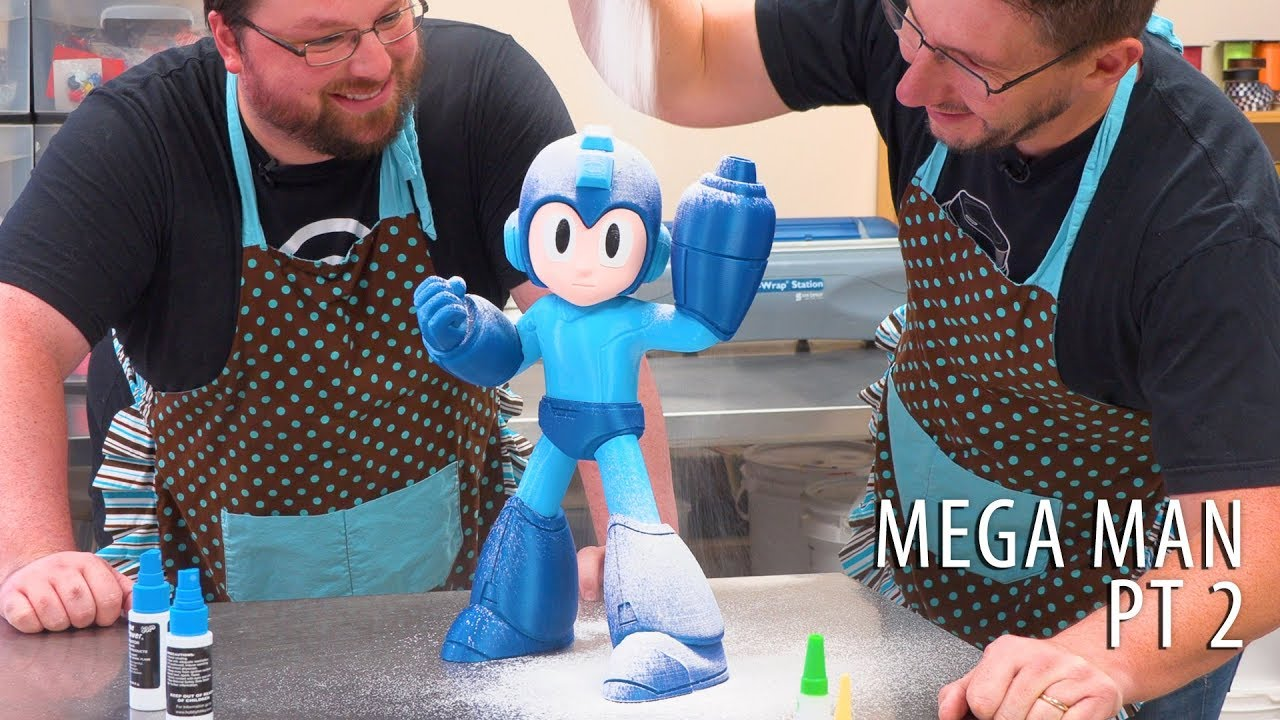 3D Printing Mega Man – Bakery Assembly Process ENGAGE (w/ Chaos Coretech)