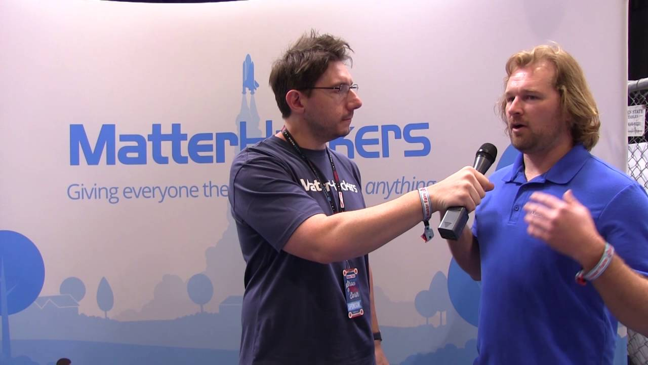 3D Printing: Dave Gaylord from Matterhackers at Maker Faire 2016