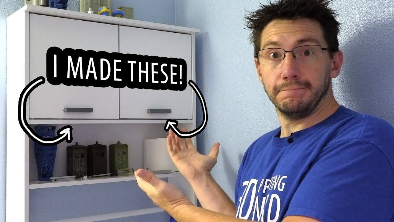Practical 3D Printing in the Bathroom – Fixing a Cabinet Handle