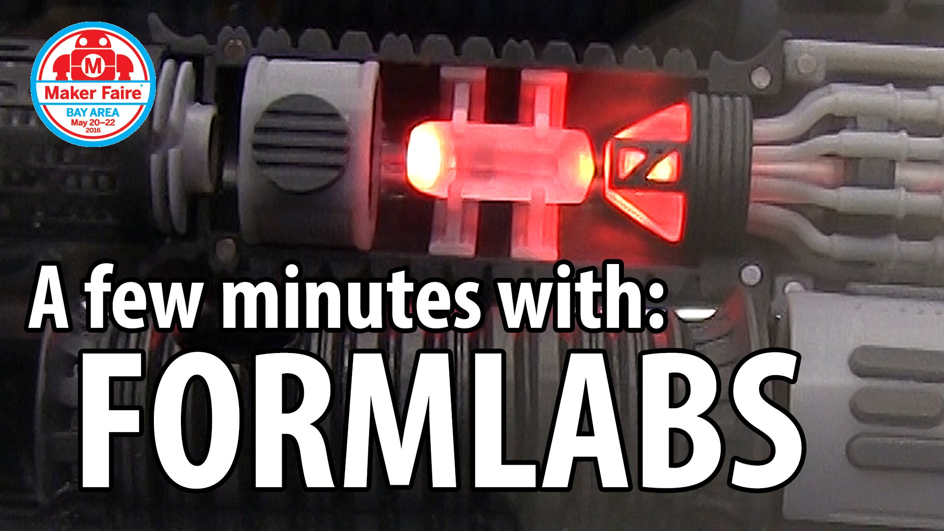 3D Printing: Formlabs at Maker Faire 2016