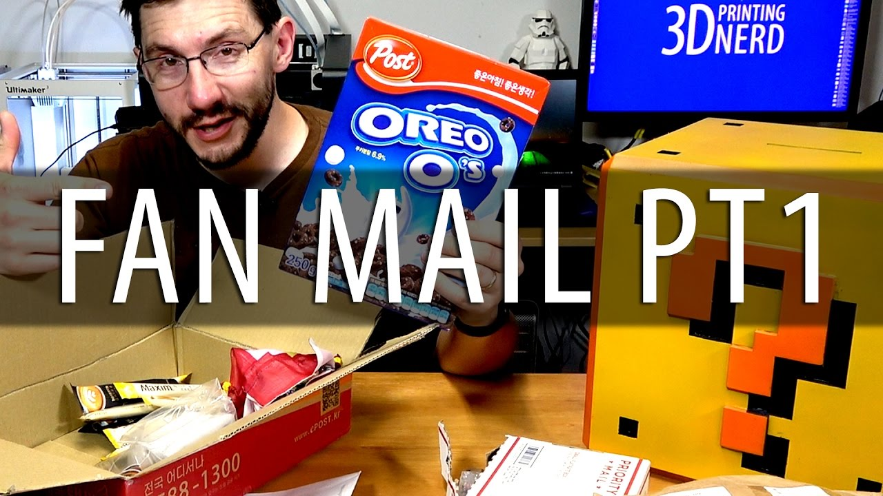 Fan Mail Friday for May 05, 2017 PART 1