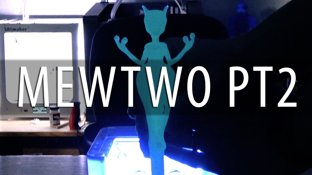 Mewtwo Close-Ups and UV Lights