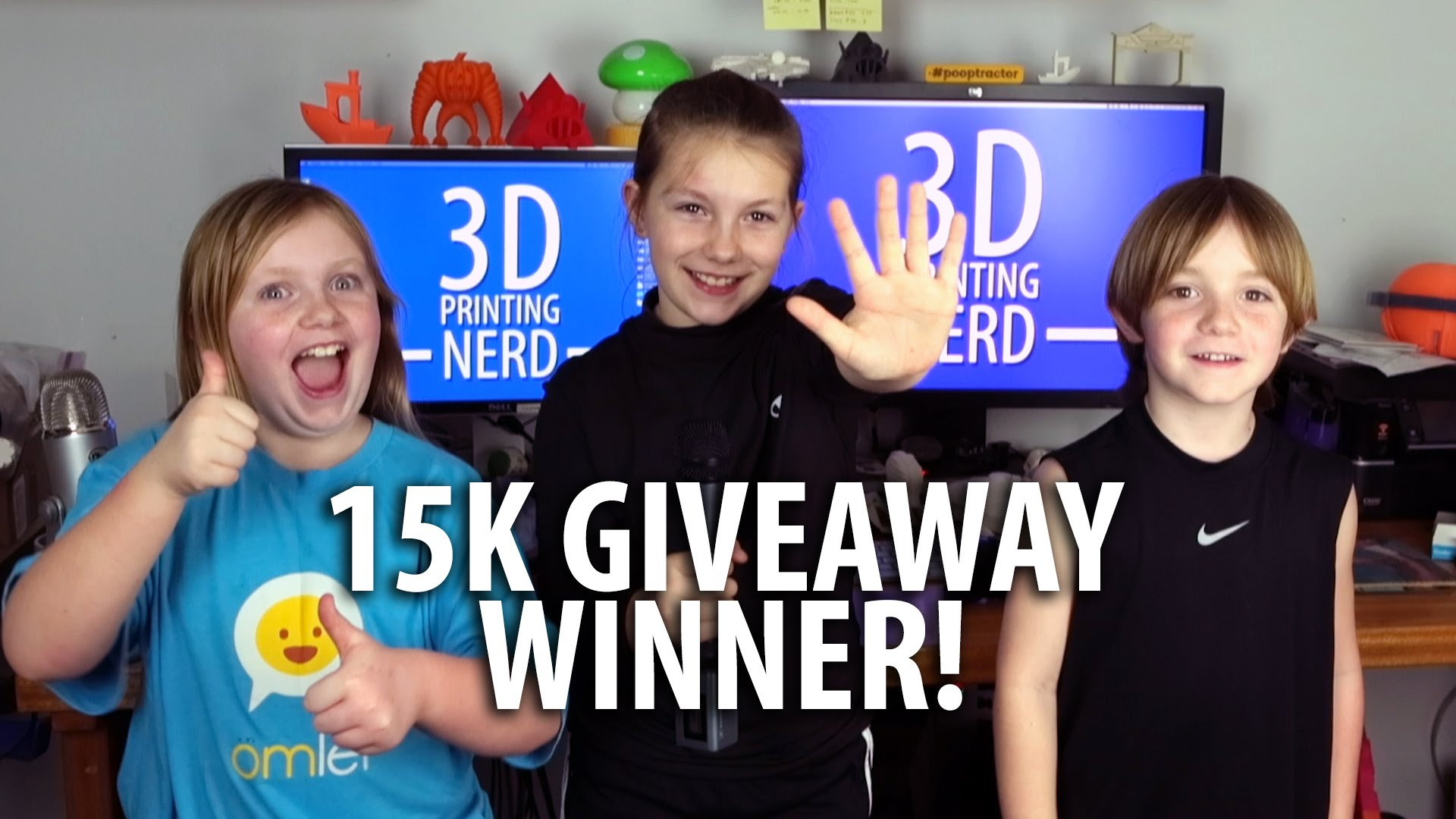 15K Giveaway Winner Announced!