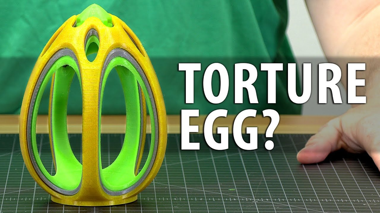 This Egg Broke My 3D Printer – It's Maker's Muse Fault! #DestroyerOfWorlds
