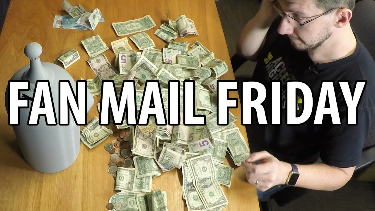 Fan Mail Friday   How Much Money is in Hungry Bender