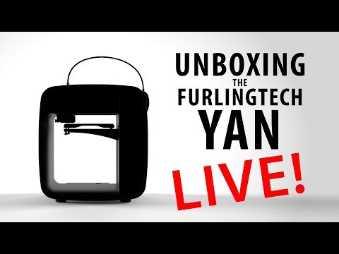 Unboxing & Setup of the Furlingtech YAN 3D Printer