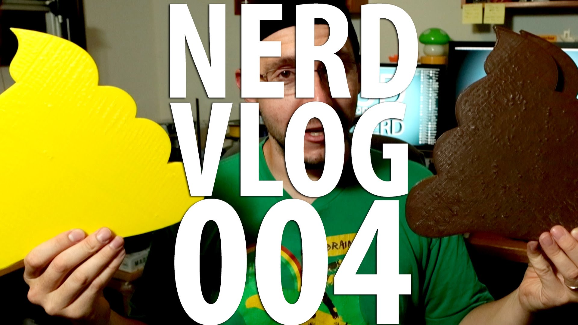 3D Printing / Matter Control Touch / Form Futura / Cake Cutter / Poo Emoji – Nerd Vlog 004