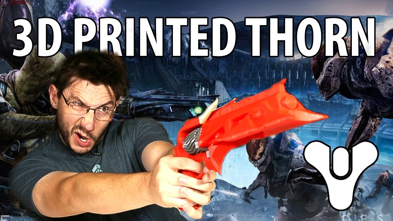 3D Printing: Assembling the Thorn Year 3 from Destiny