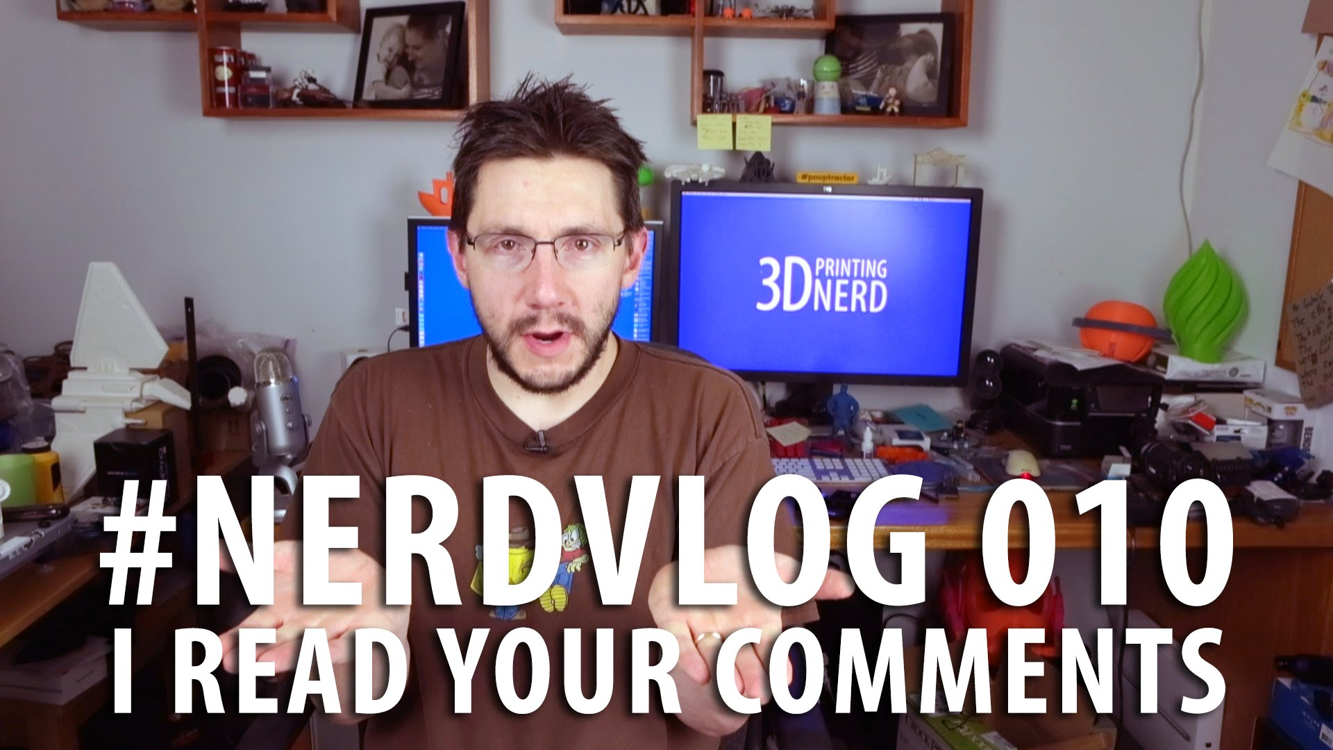 Nerd Vlog 010 – Audience Questions Answers