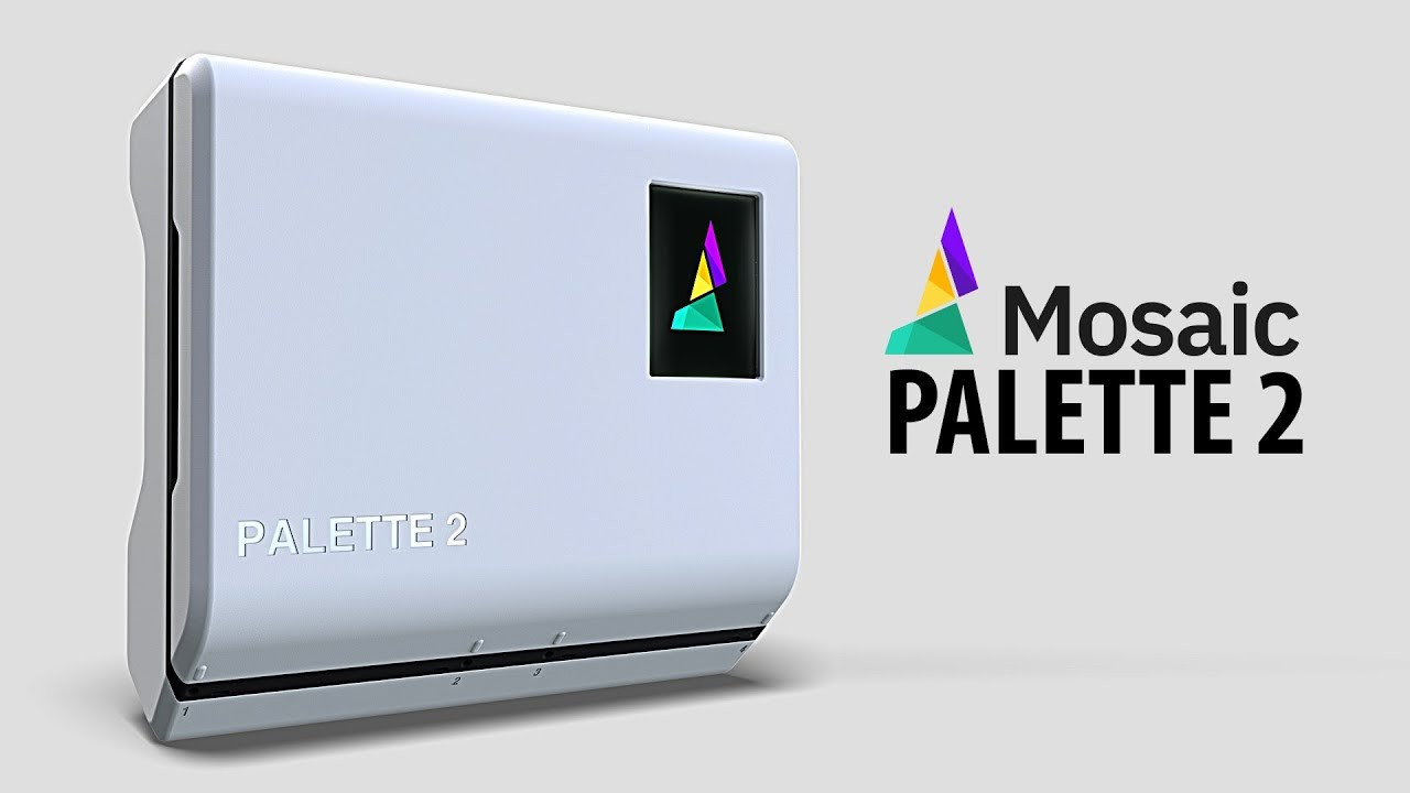 Hands On The Mosaic Palette 2 – Multi-Material Printing for Your 3D Printer