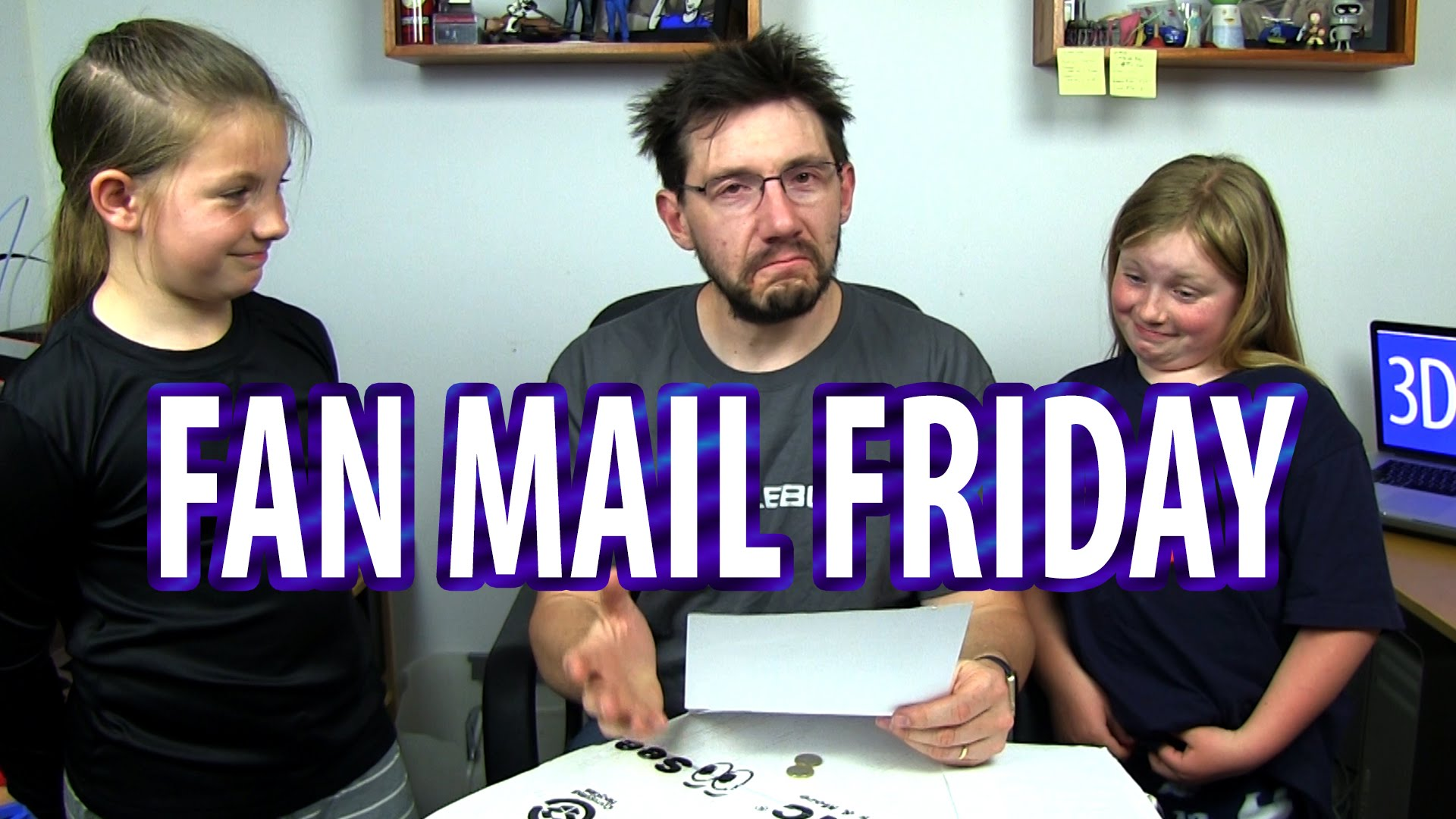 Fan Mail Friday 007 – Bring Your Daughter To Work Edition