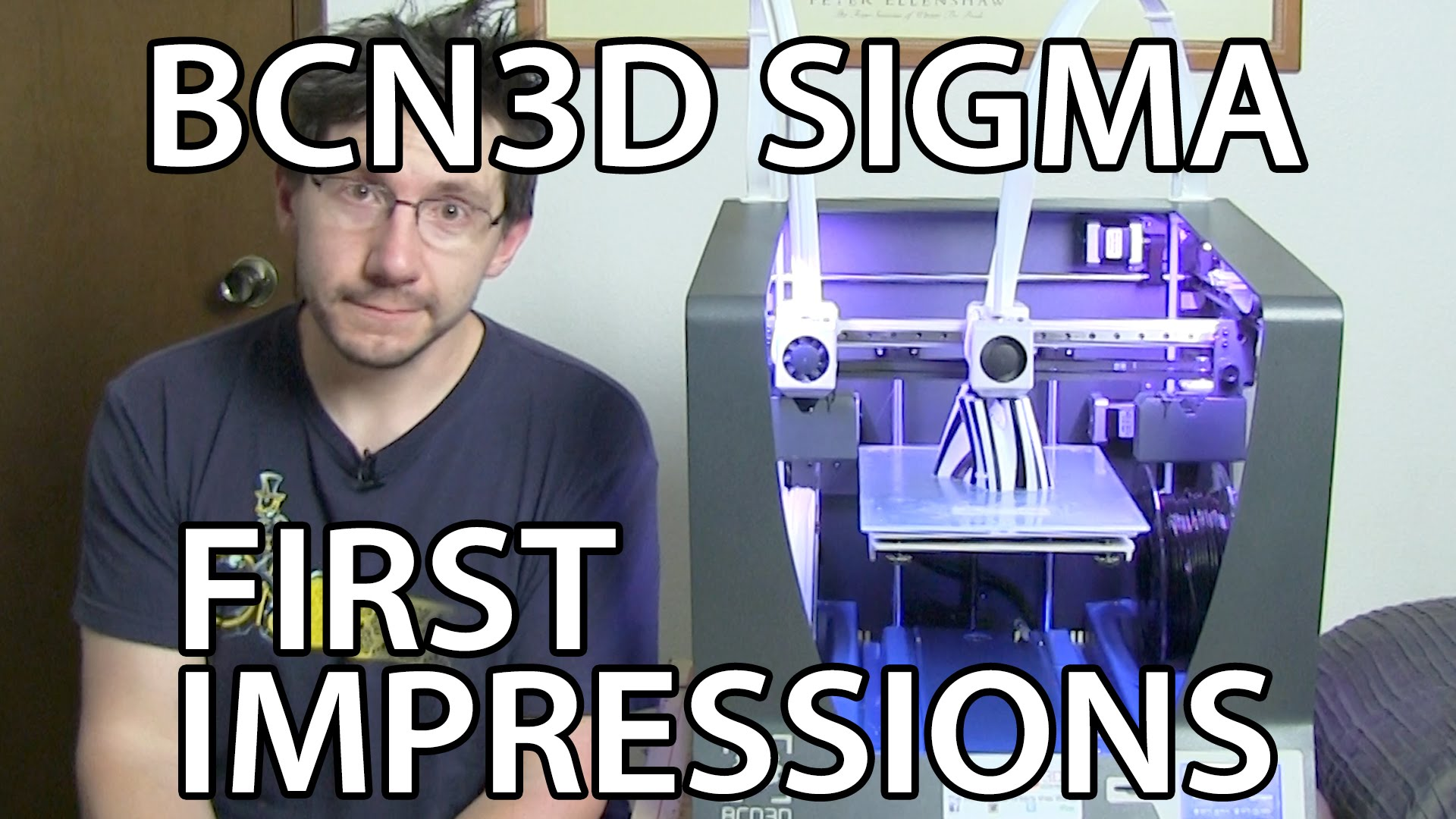 BCN3D Sigma 3D Printer First Impressions