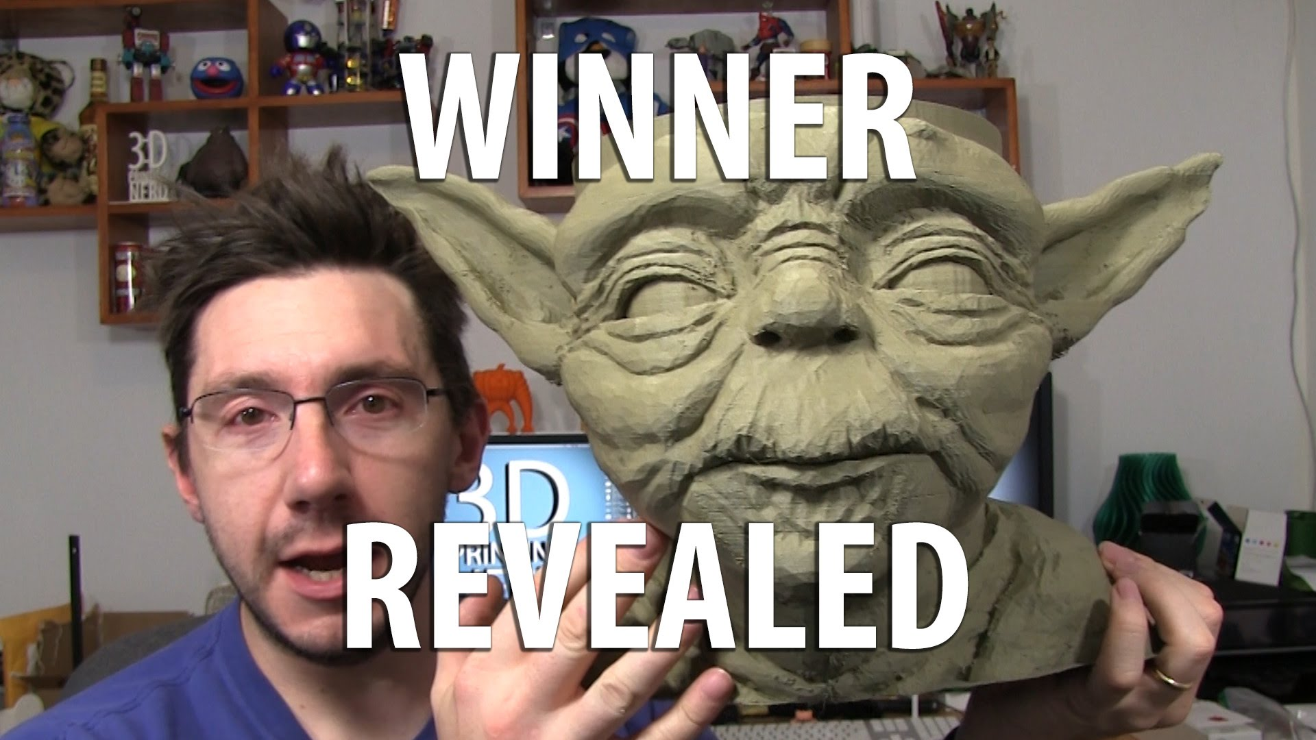 3D Printed Yoda Bowl Winner Announced