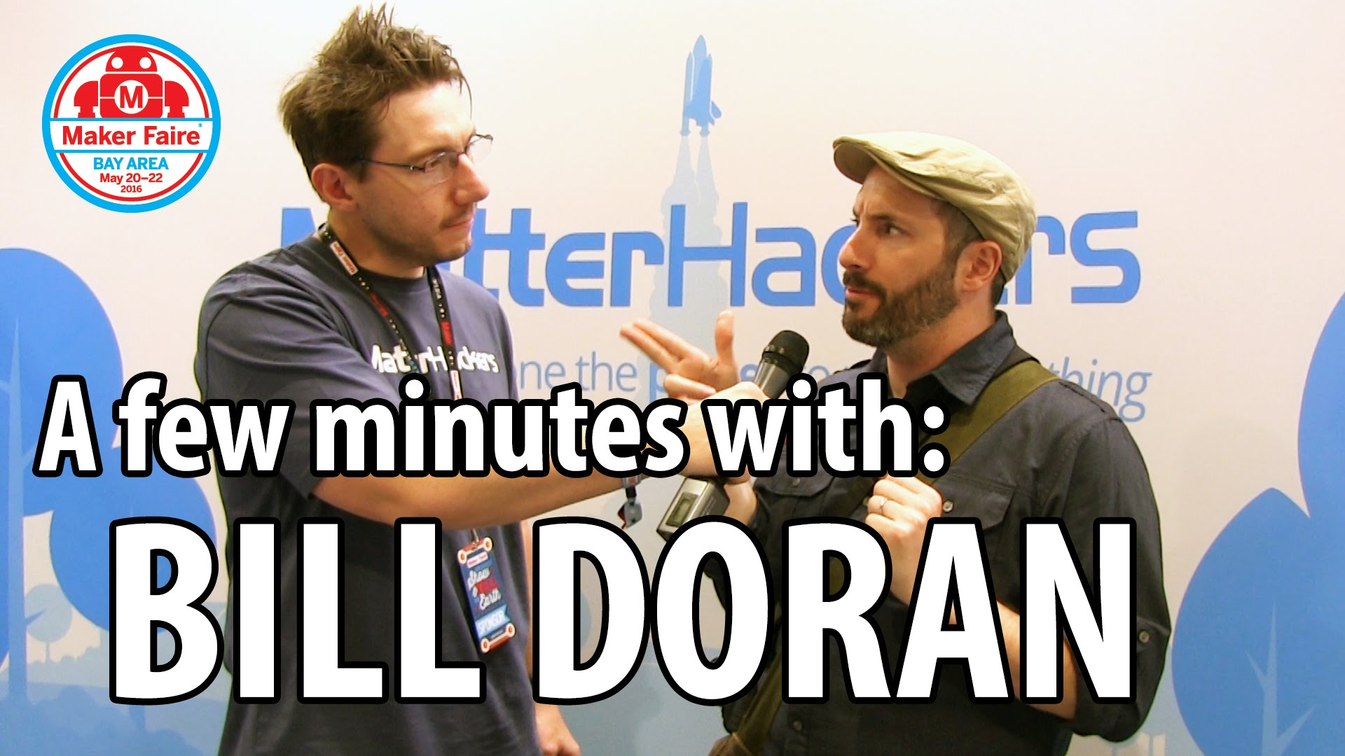 3D Printing: Bill Doran of Punished Props at Maker Faire 2016