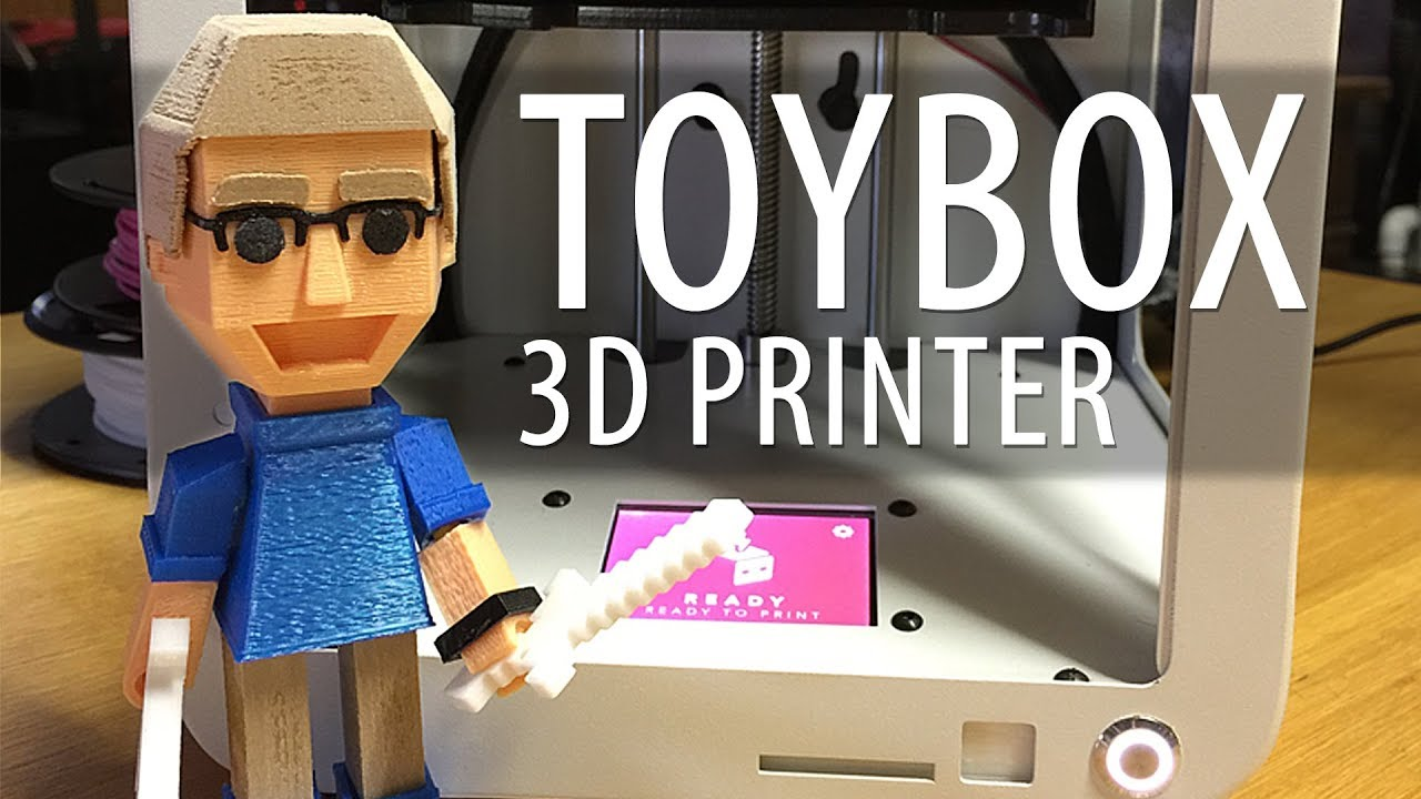 Toybox Labs Indiegogo 3D Printer First Look