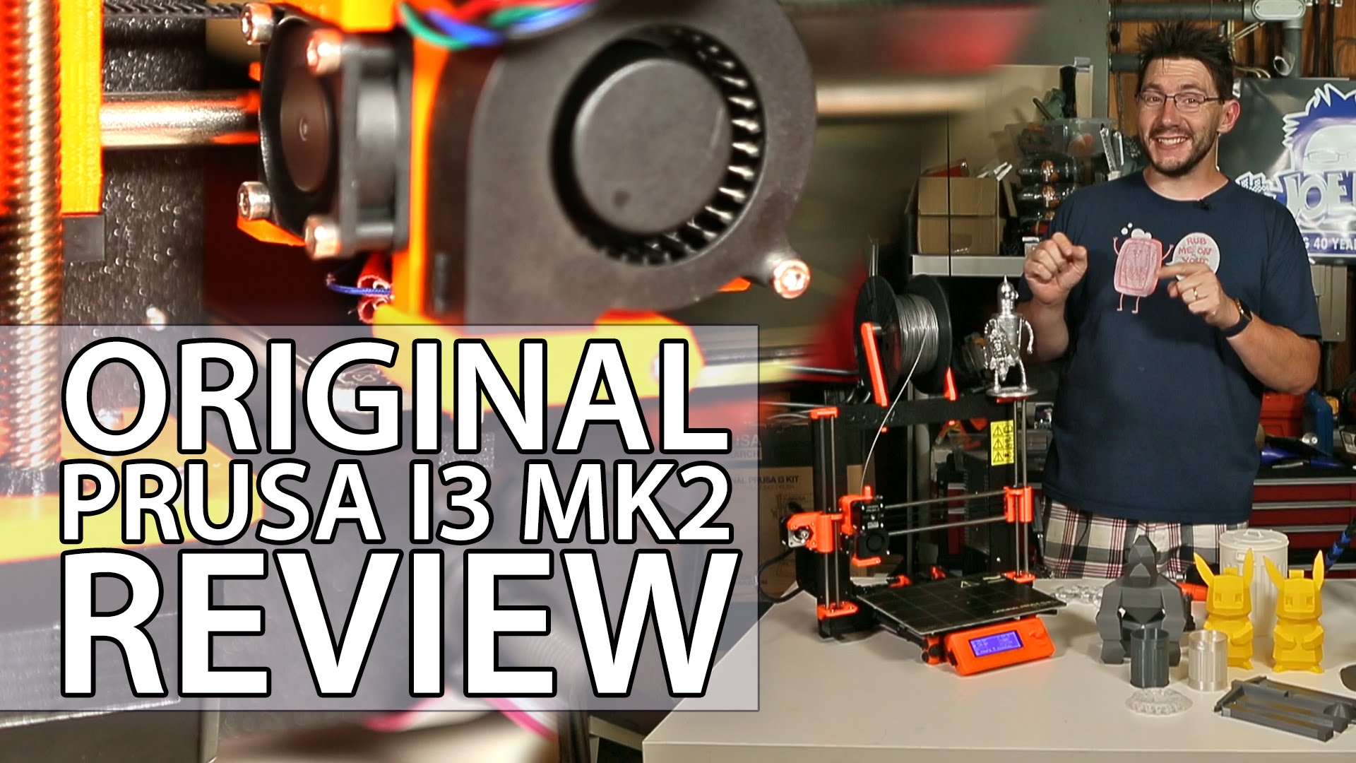 Original Prusa i3 mk2 3D Printer Review – Fully Assembled Version