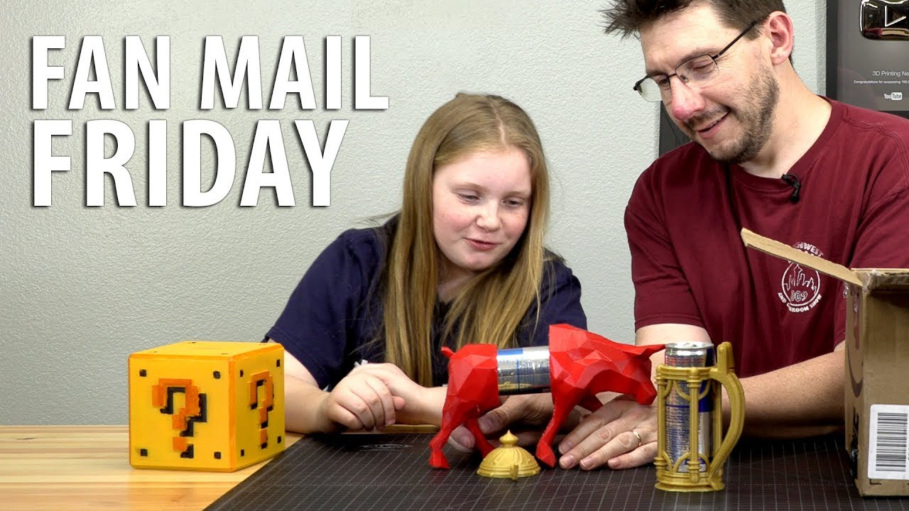 Fan Mail Friday – A Redbull IN A Red Bull!