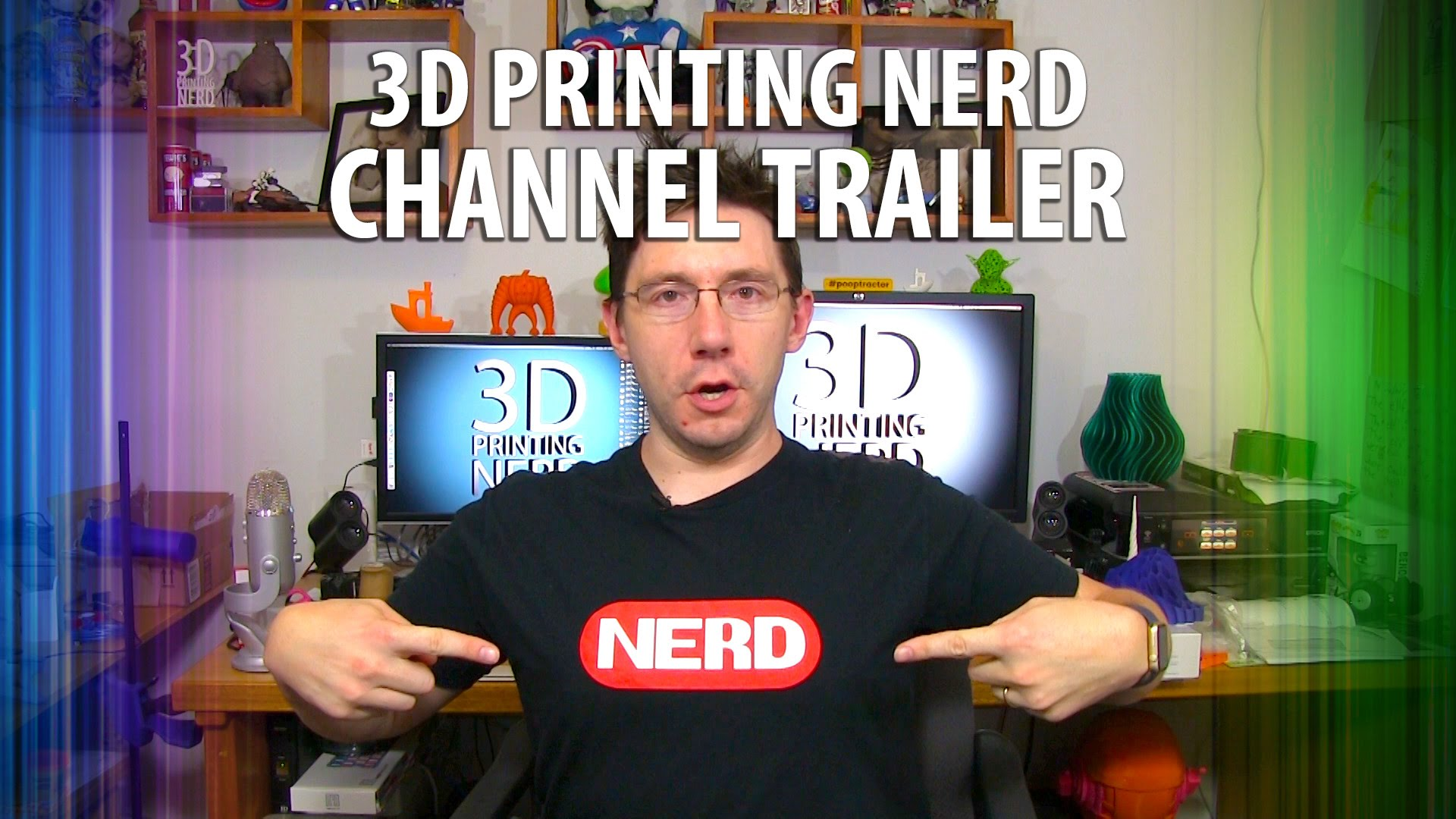 3D Printing Nerd – Channel Trailer