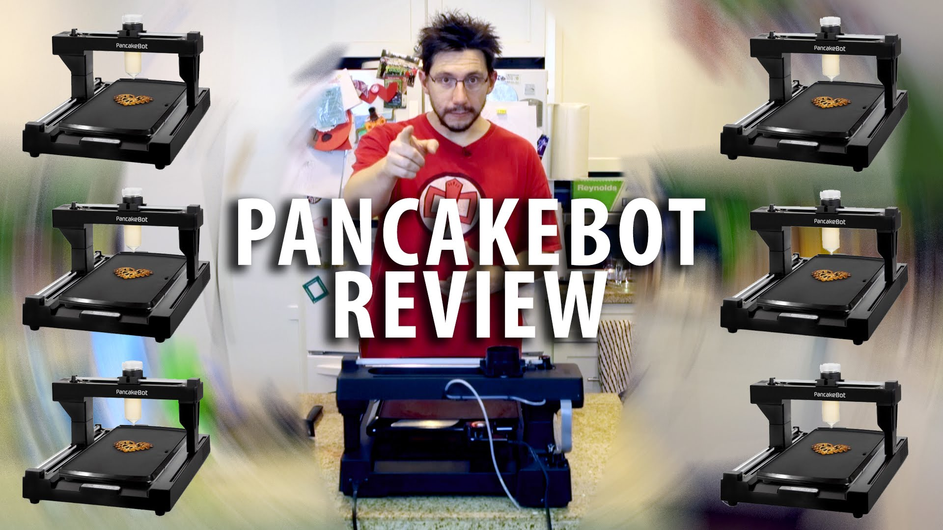 My Review of the Pancakebot 3D Printer – The world's first pancake printer!