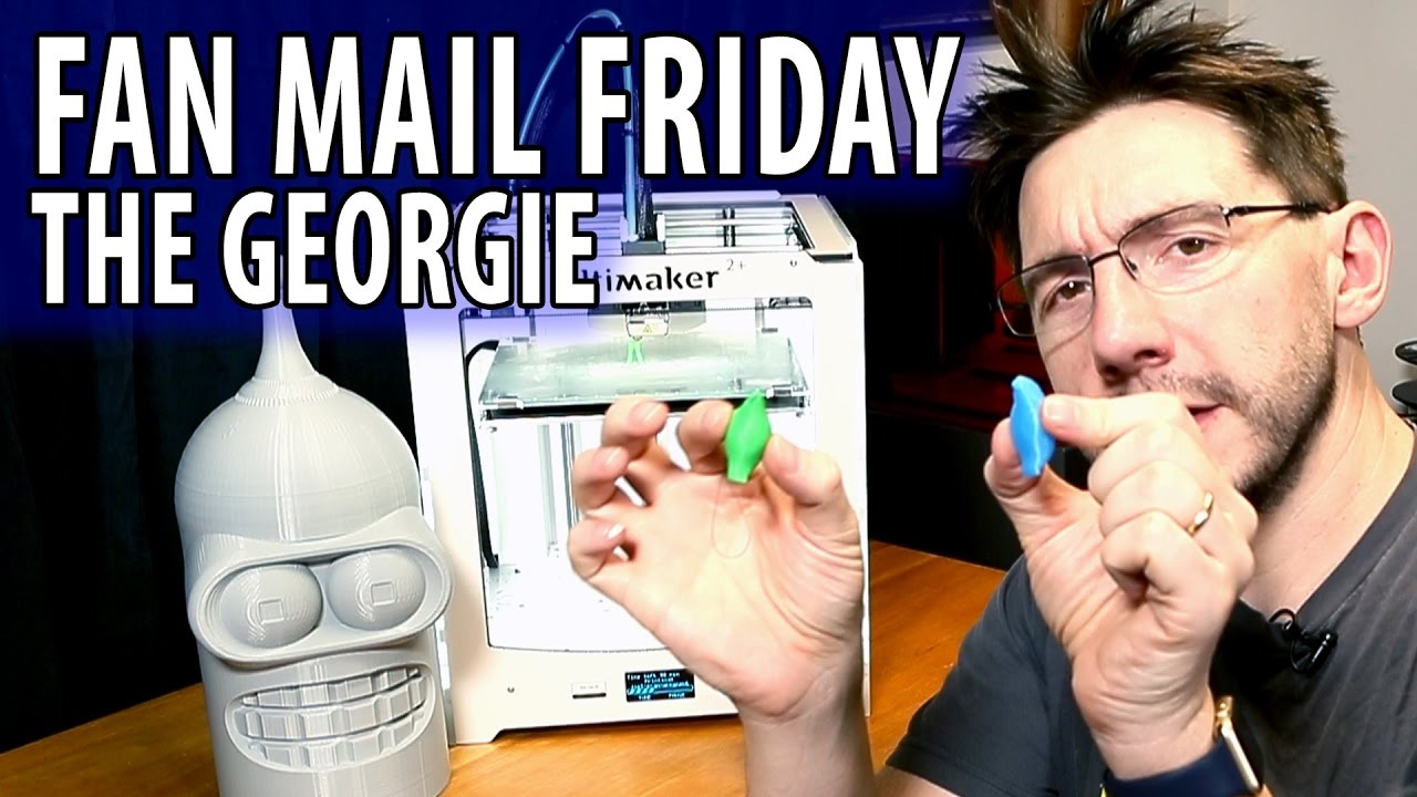Fan Mail Friday 023 – Georgie and the Last One of 2016