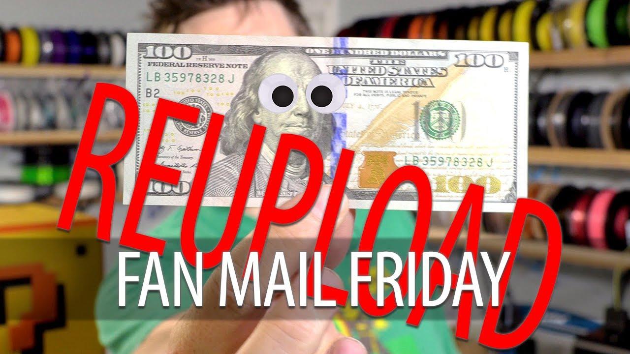 REUPLOAD: Fan Mail Friday – HUNDRED DOLLAR BILL EDITION