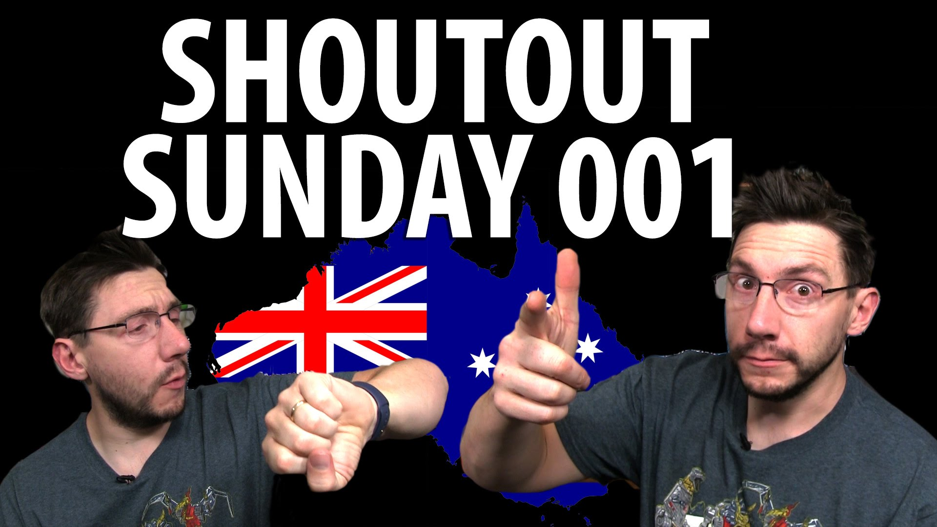 Shoutout Sunday 001 – Australia Edition