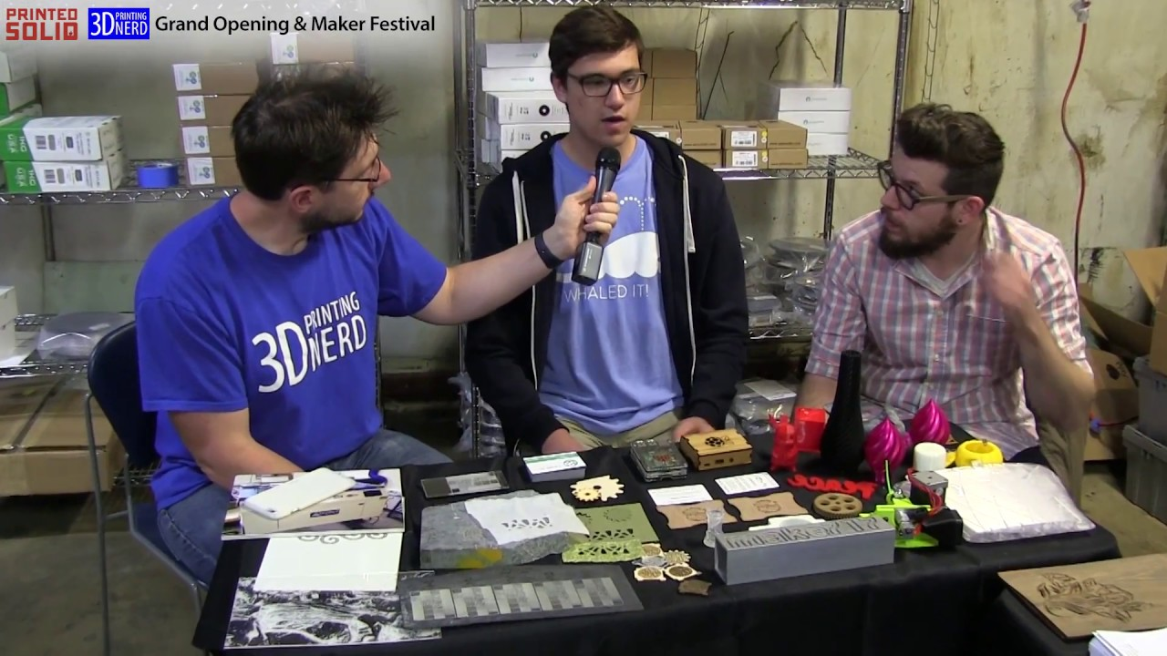 Interview with Make 717 at the Printed Solid Grand Opening in Newark, Delaware