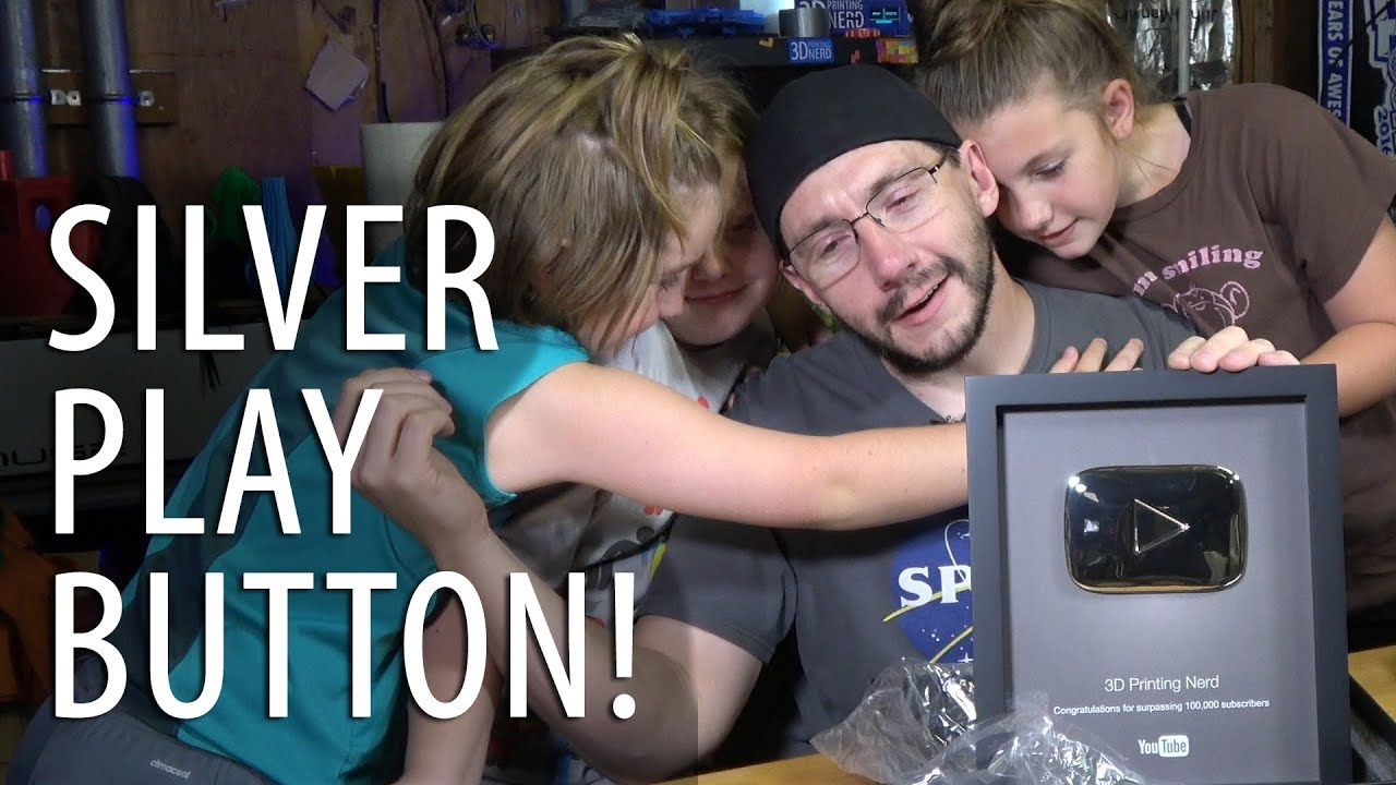 Unboxing My Silver Play Button for YouTube 100k Subs!