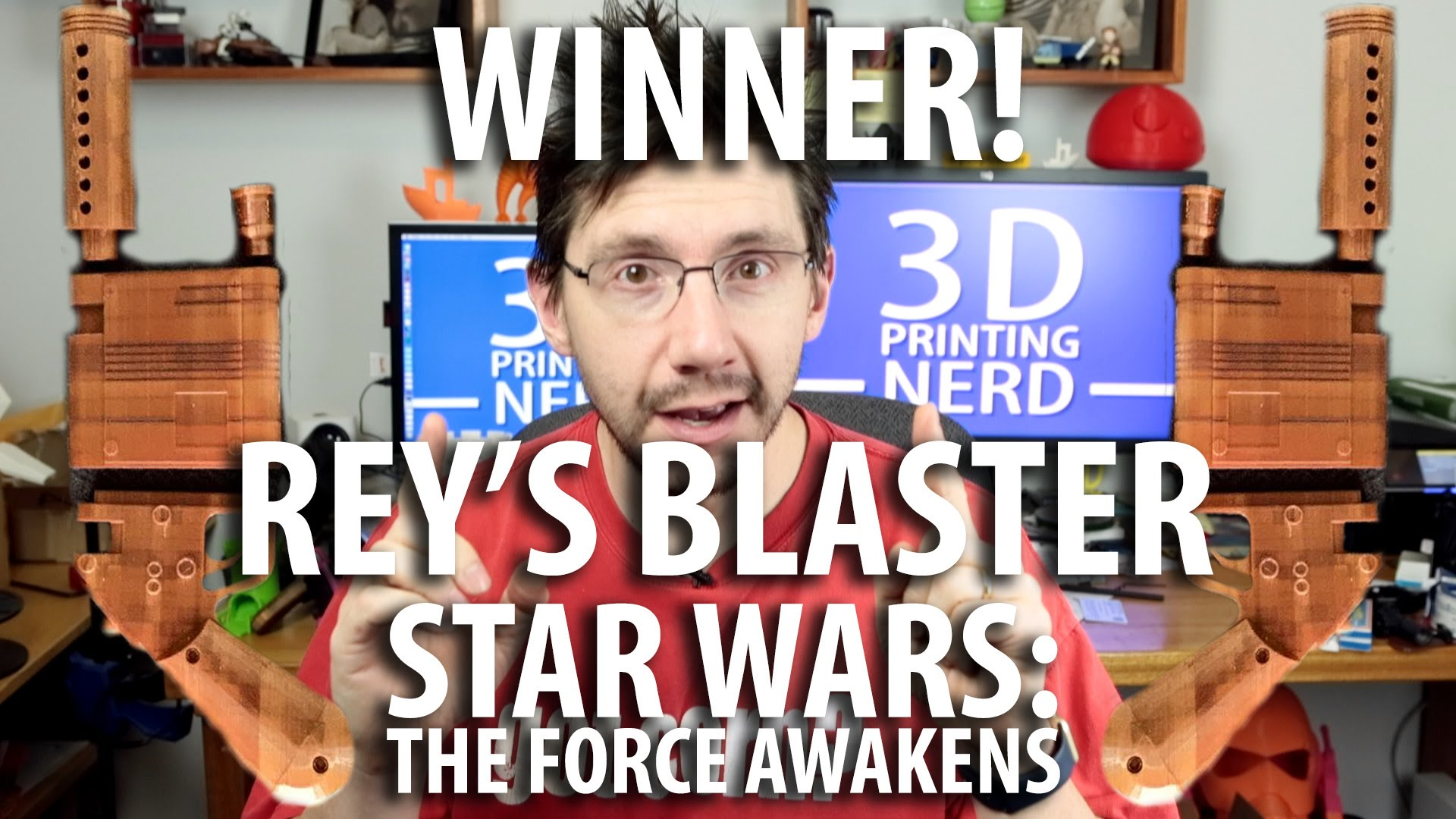 Winner of Rey's Blaster from Star Wars Announced!
