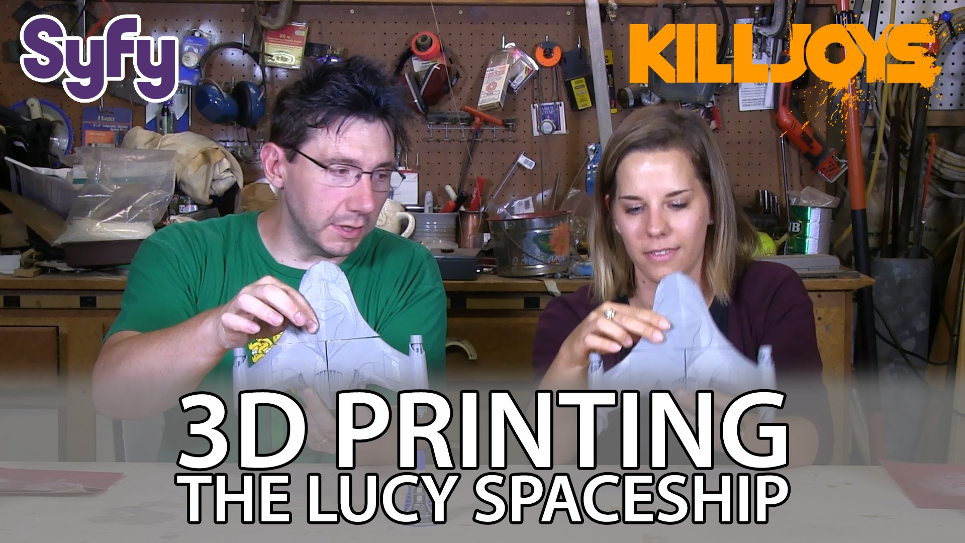 3D Printing: Lucy Spaceship from SyFy Killjoys