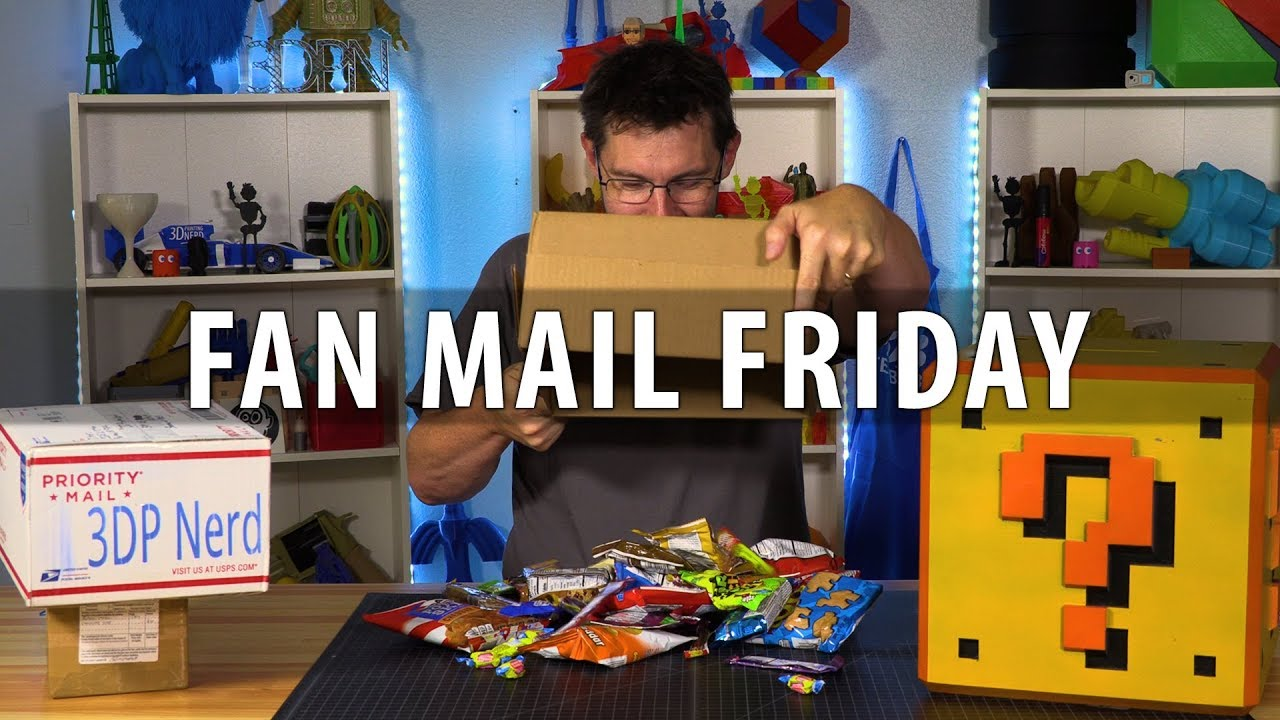 Fan Mail Friday – Rylee Gets a Geeetech E180 / Joel Gets SNACKS!