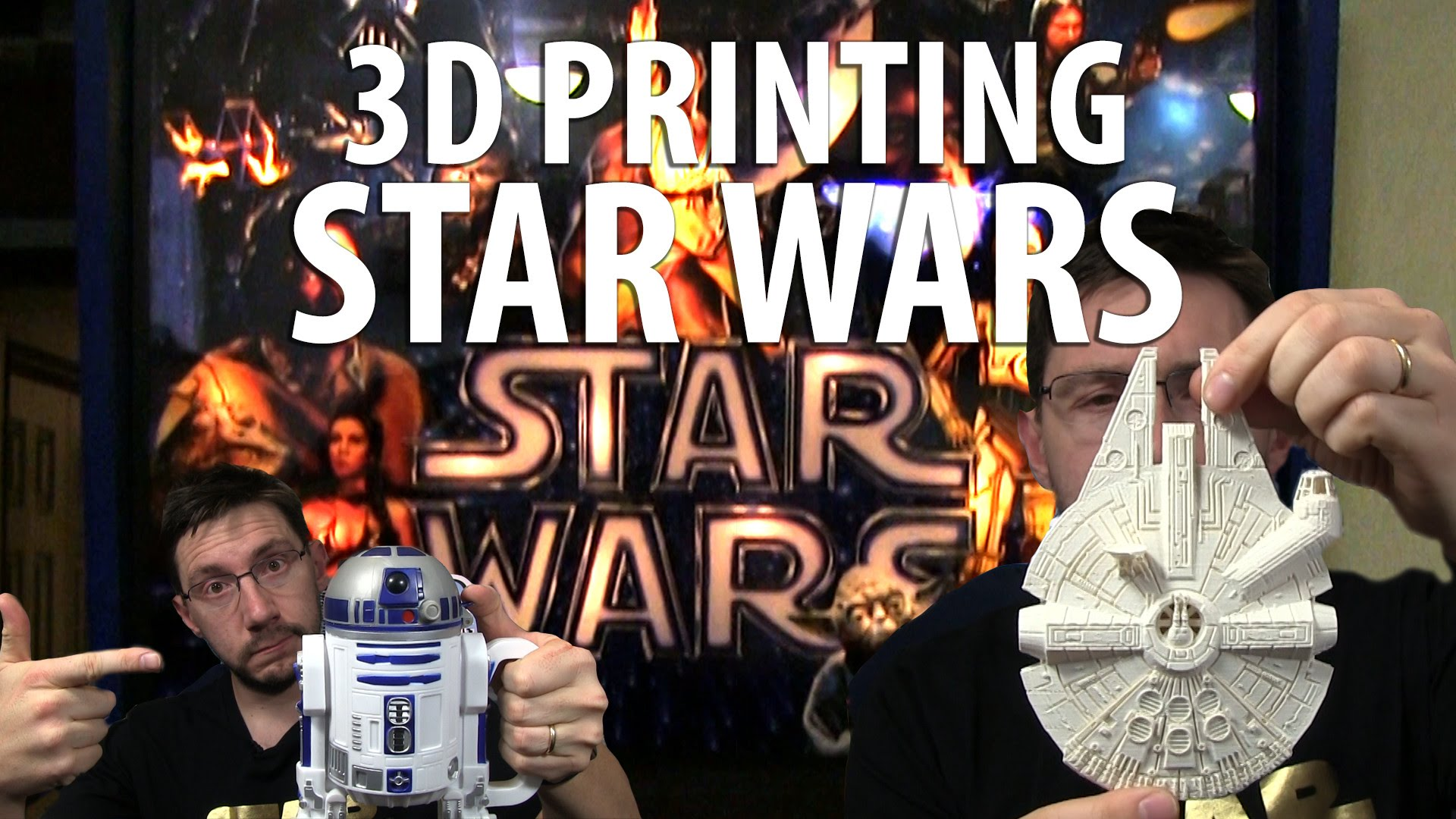 3D Printing: Millennium Falcon from Star Wars