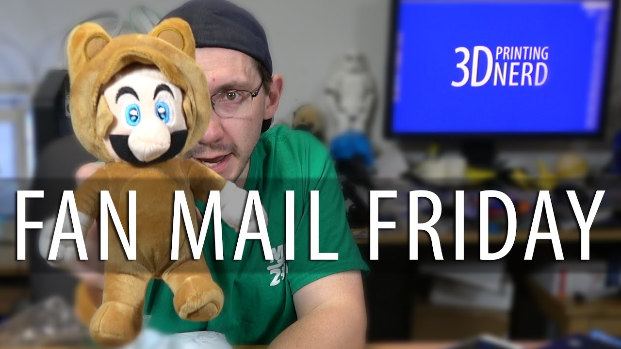Fan Mail Friday – I was Sent a Tanooki Mario!