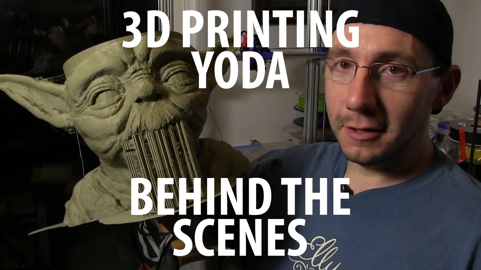 3D Printing Giant Yoda Bowl – Behind the Scenes